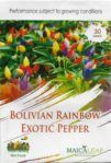 Benih Cabai Pelangi Bolivian Rainbow Pepper 30 Biji