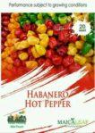 Benih Cabai Habanero Hot Pepper 25 Biji